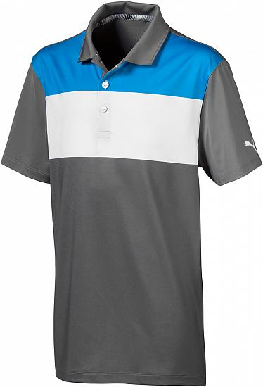 Puma Nineties Junior Golf Shirts - ON SALE