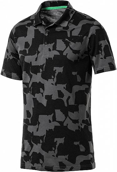 Puma DryCELL Union Camo Junior Golf Shirts - ON SALE