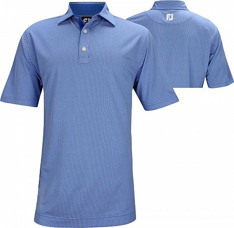 FootJoy ProDry 4 Dot Jacquard Golf Shirts - FJ Tour Logo Available