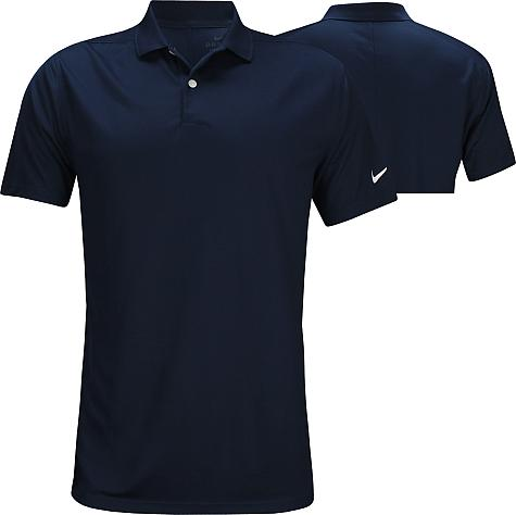 Nike Dri-FIT Victory Left Sleeve Logo Golf Shirts