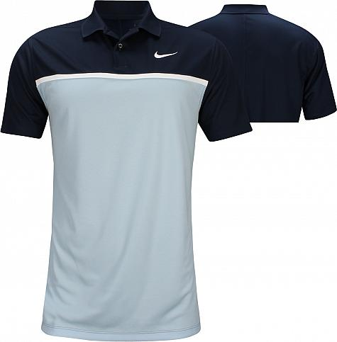 Nike Dri-FIT Victory Colorblock Golf Shirts