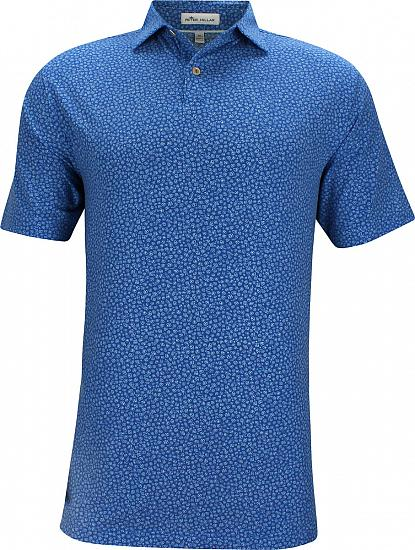 Peter Millar Dri-Release Natural Touch Printed Floral Jersey Golf Shirts