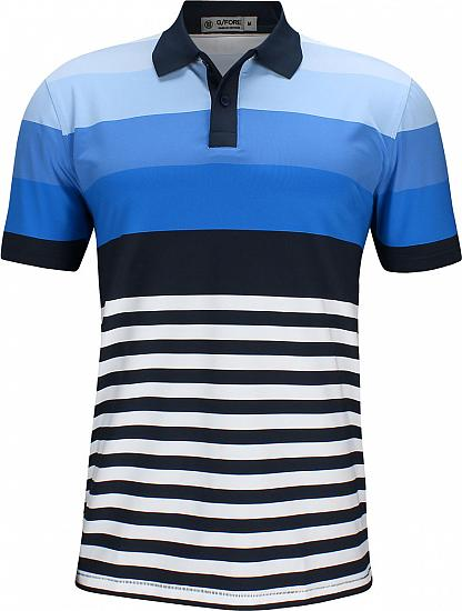 G/Fore Gradient Stripe Golf Shirts