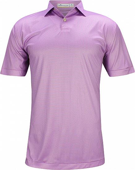 Peter Millar Featherweight Printed Geo Golf Shirts