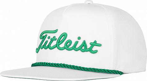 Titleist St. Patrick's Day Rope Flat Bill Snapback Adjustable Golf Hats