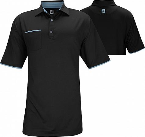 FootJoy ProDry Lisle Faux Layer Golf Shirts - FJ Tour Logo Available