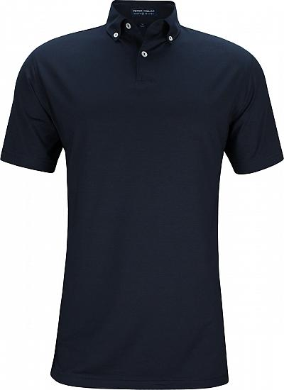 Peter Millar Crown Crafted Ace Cotton Blend Golf Shirts - Tour Fit