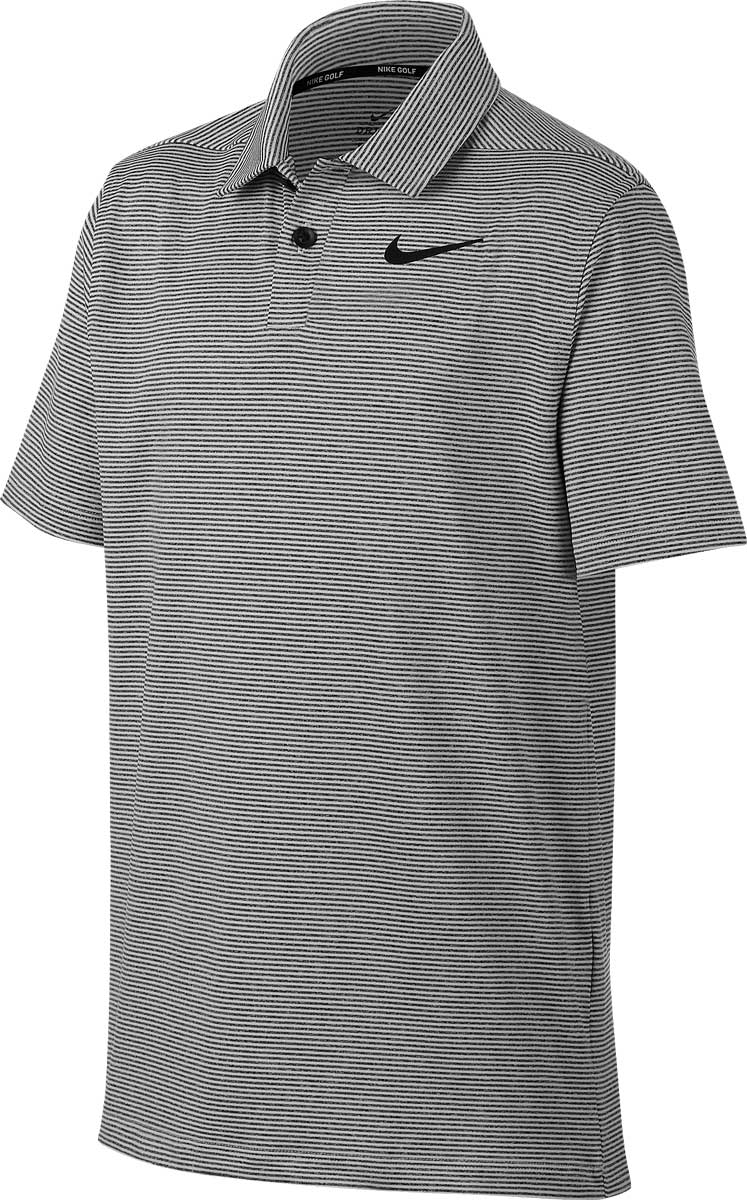 40591bf9889 Nike Dri-FIT Control Stripe Junior Golf Shirts