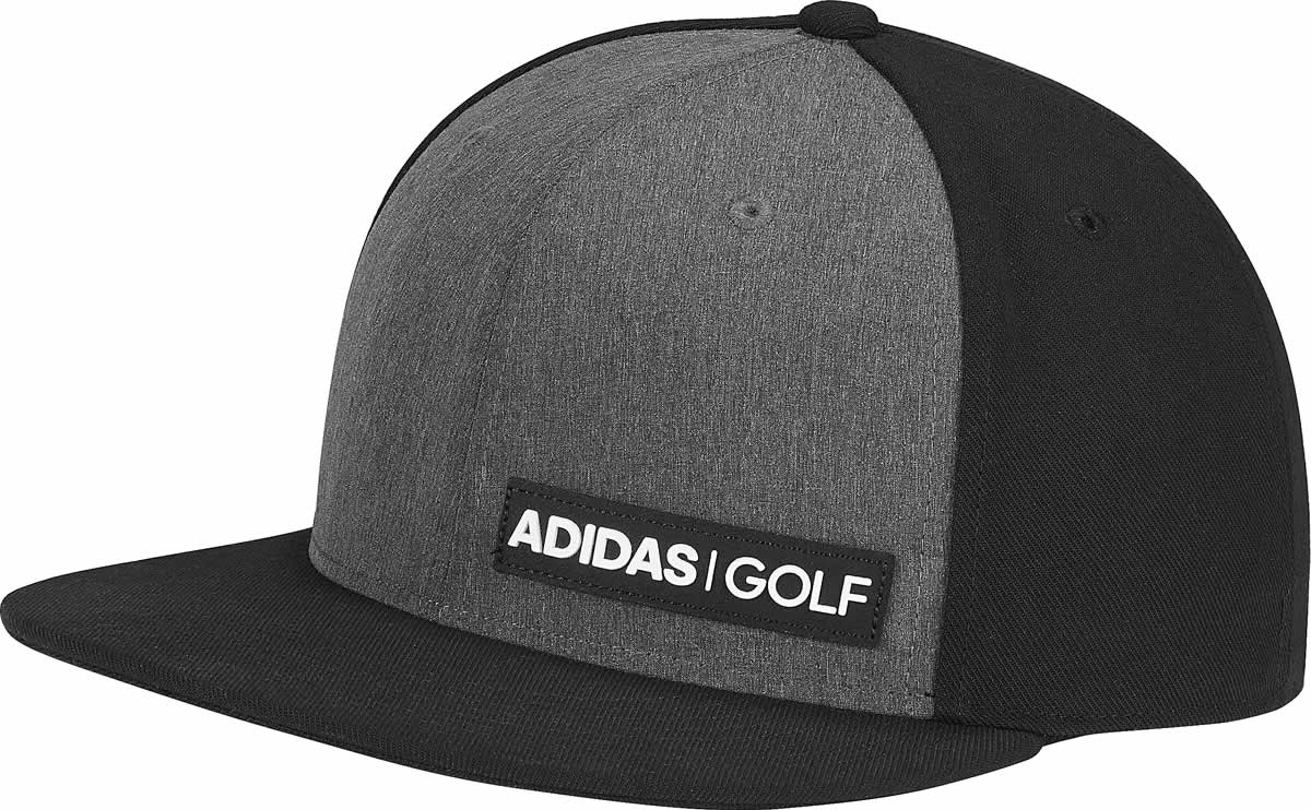 Adidas Heather Flat Bill Snapback Adjustable Golf Hats 880d78c7f9fa