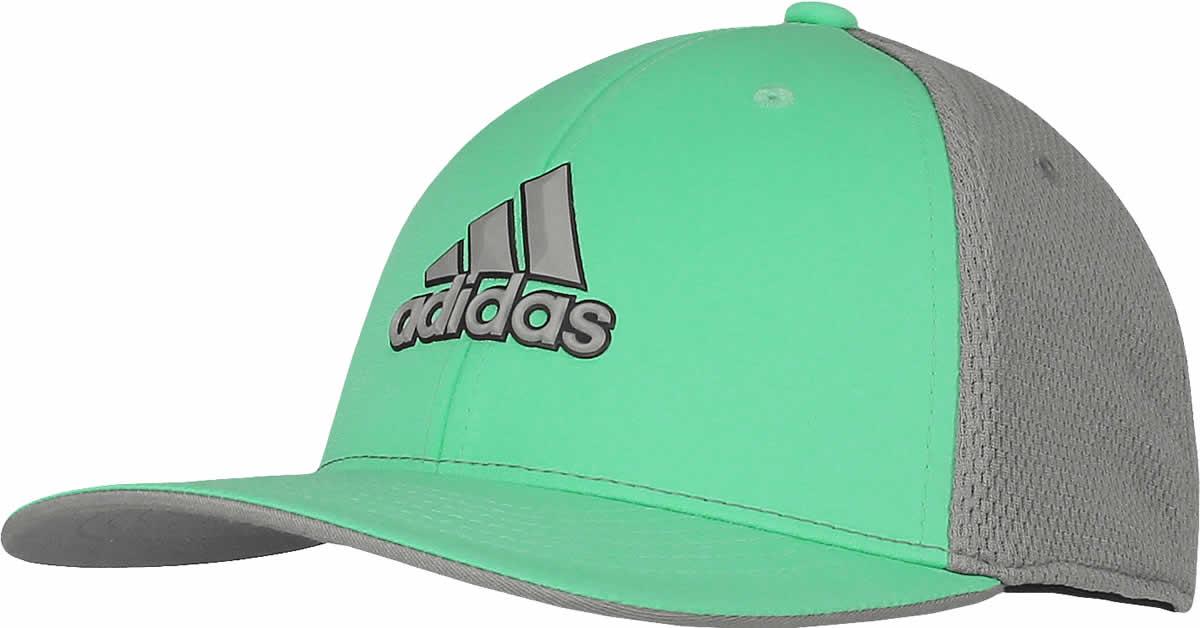 f86a0f49a58d3 Adidas ClimaCool Tour Flex Fit Golf Hats