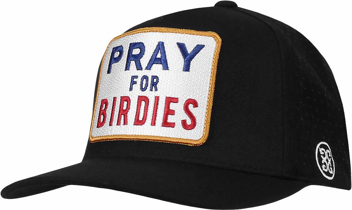 9db0a5208c4 G Fore Pray for Birdies Snapback Adjustable Golf Hats