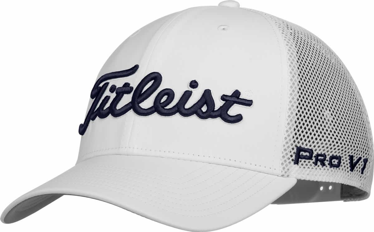 04de63852d4a7 Titleist Tour Snapback Mesh Adjustable Golf Hats - ON SALE
