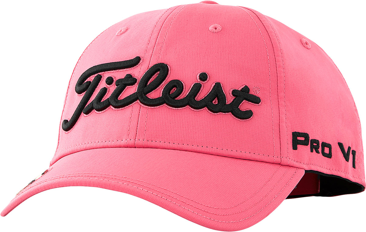 452bcbfb3332c Titleist Women s Tour Performance Ball Marker Adjustable Golf Hats - Limited  Edition Pink Out