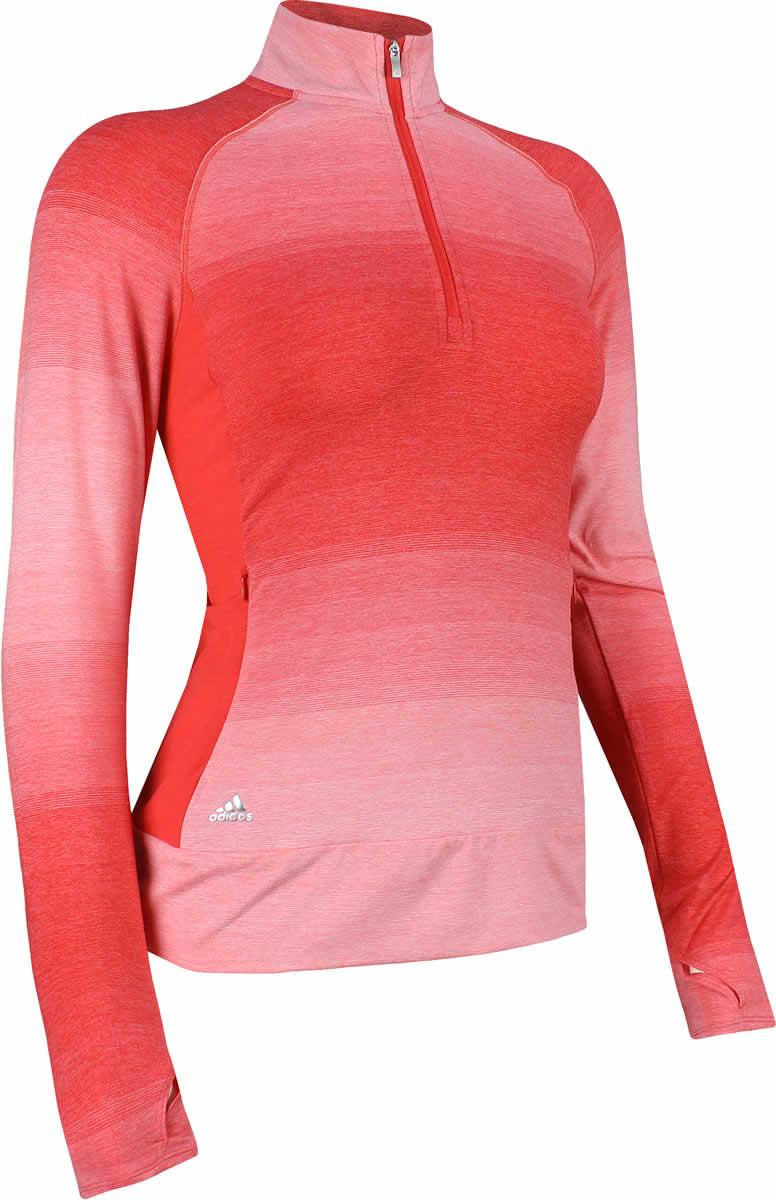 e5fd12870f6f Adidas Women s Rangewear Half-Zip Golf Pullovers - ON SALE