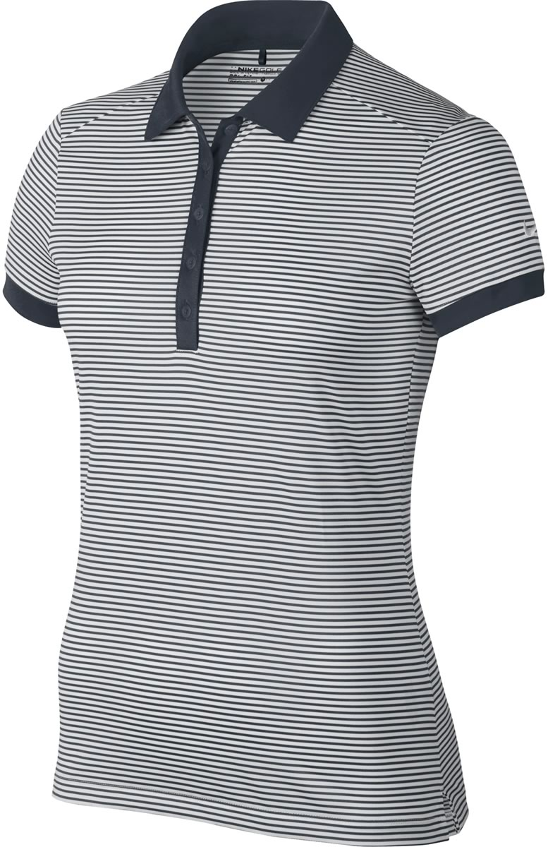 86e21b1d Nike Women's Dri-FIT Victory Stripe Golf Shirts - CLOSEOUTS